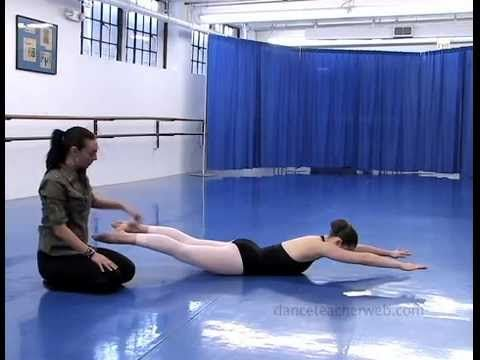 Dance Teacher Web Presents Core Building Exercise With Jessica Rizzo
