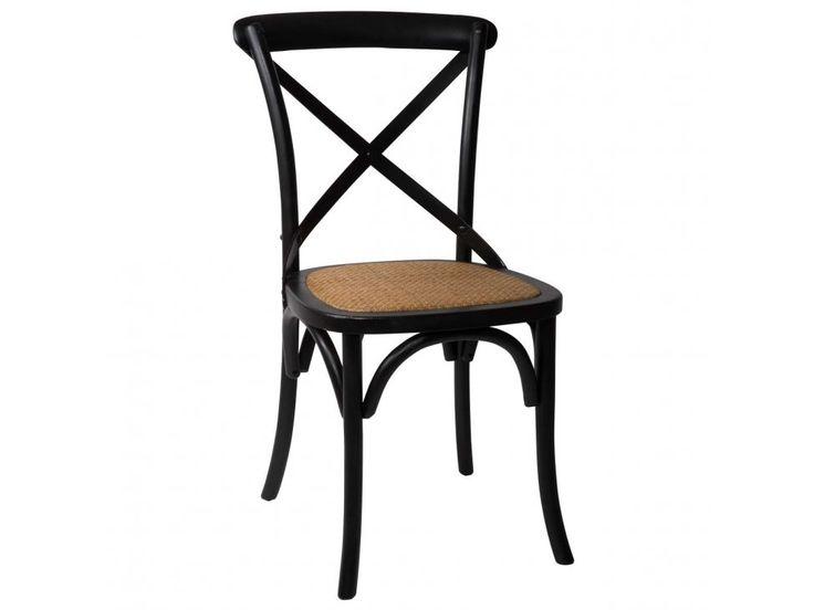 Krzesło Provence czarne — Krzesła Ib Laursen — sfmeble.pl