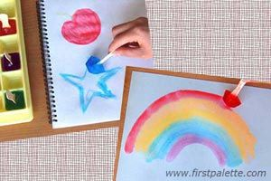 Ice Cube Painting craft