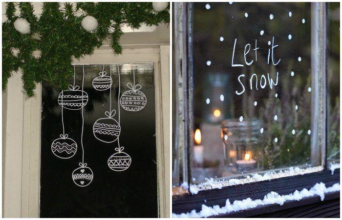 Новогодний декор окон, который добавит праздничную атмосферу в интерьер