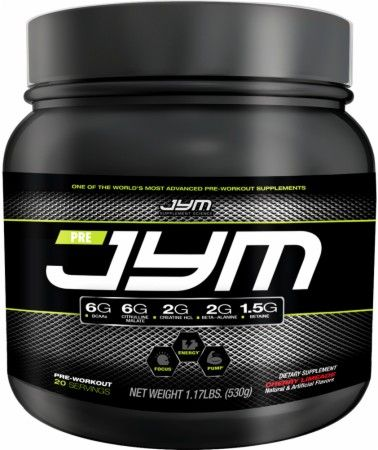 Pre JYM Review - A Scientifically Validated Pre-Workout