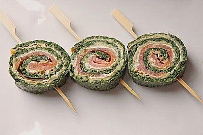 Lachsrolle mit Spinat, ein sehr leckeres Rezept aus der Kategorie Gemüse. Bewertungen: 281. Durchschnitt: Ø 4,6.
