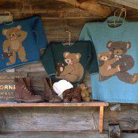 Trois pulls tricotés aux motifs d'ours - Marie Claire Idées