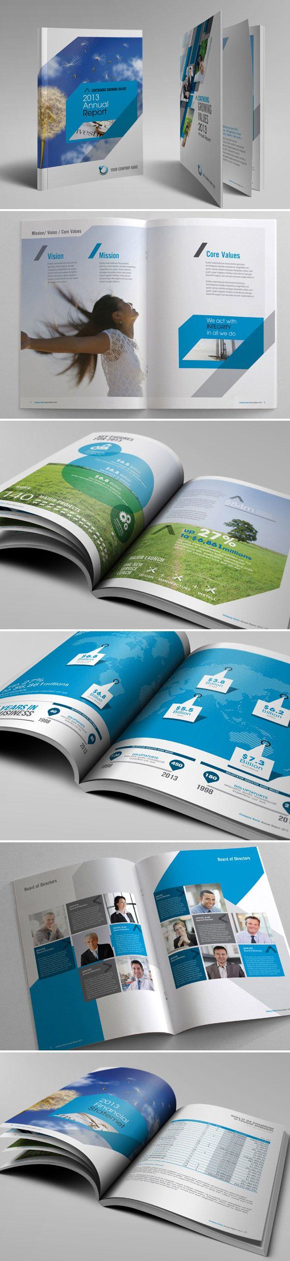 annual report design inspiration 2012 - Google Search