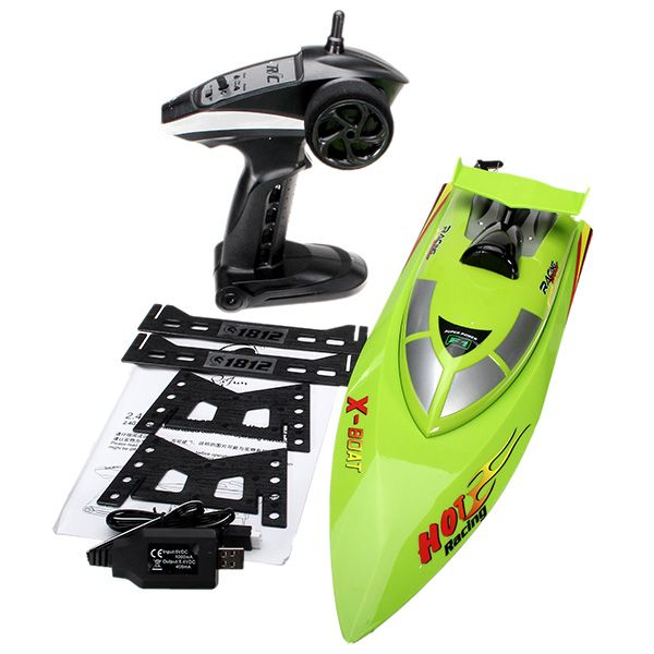 $96.00                              Details about  1 x High Speed Wireless Remote Control RC Boat With Battery