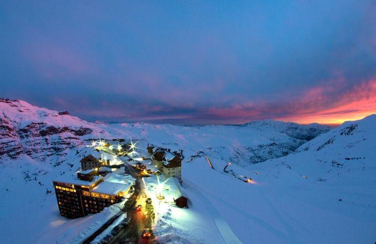 Valle Nevado Ski Resort, Santiago, Chile.