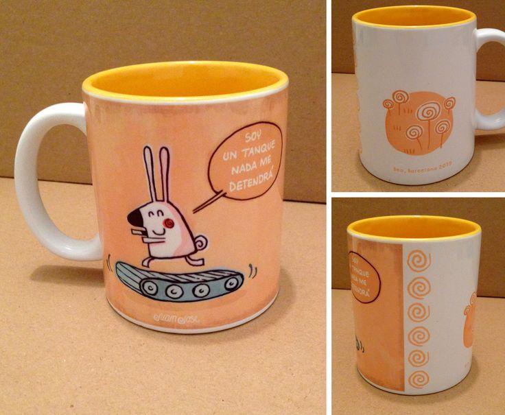 Tazones, Conejo, ilustración aplicada
