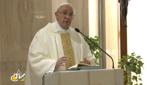 Il Papa: ingiusto essere benefattore della Chiesa e rubare allo Stato, no ai cristiani dalla doppia vita