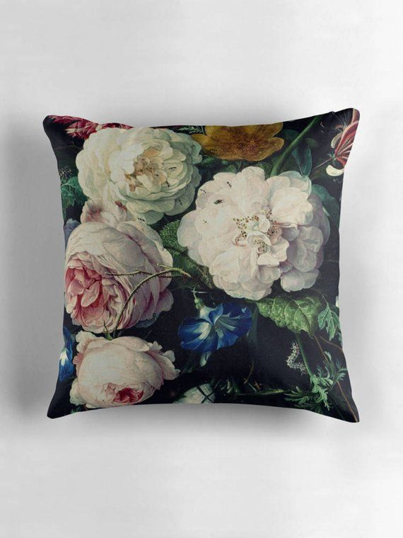 Pin By Pink Poppies On My Room In 2020 Floral Pillows Country Floral Pillows Flower Pillow