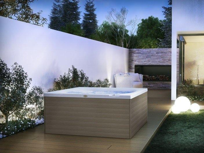 CITY SPA Мини-бассейн Spa by Jacuzzi Europe дизайн DNA Kaluderovic & Condini
