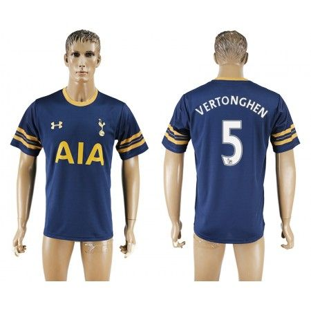 Tottenham Hotspurs 16-17 #Vertonghen 5 Udebanetrøje Kort ærmer,208,58KR,shirtshopservice@gmail.com