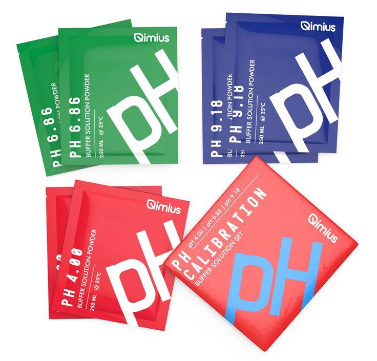 Qimius pH Calibration Powder Pack