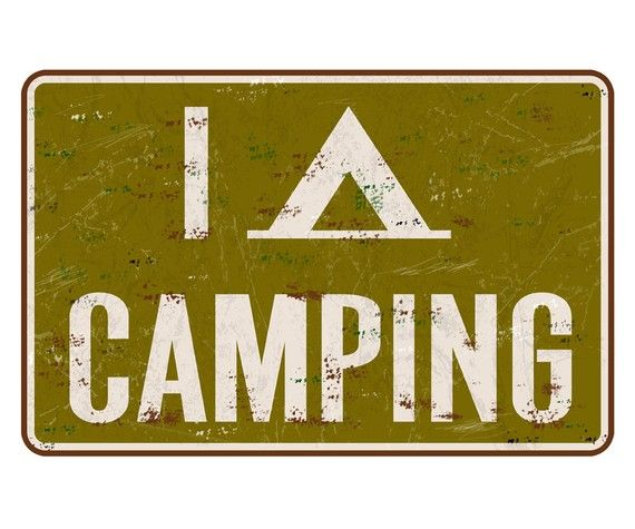 i tent camping: Ideas, Camping N Hiking N Outdoors, Heart Camping, Tent Camping, Vintage Camping, Camping Signs