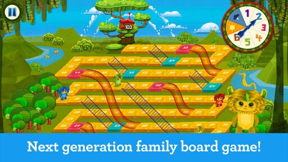 """SLIDES & LADDERS:  """"Nothing says 'quality time' like playing a family board game with your kids. 'Slides & Ladders' is the mobile version of the classic 'Snakes & Ladders' game, with a few new twists. It is fun for children of all ages! – Up to 4 players (you can play against a robot) – 3 difficulty levels, to control how long the game may take to complete – Pinch zoom and drag to explore the board The game is so easy and fun. The first one to the top, wins!"""""""