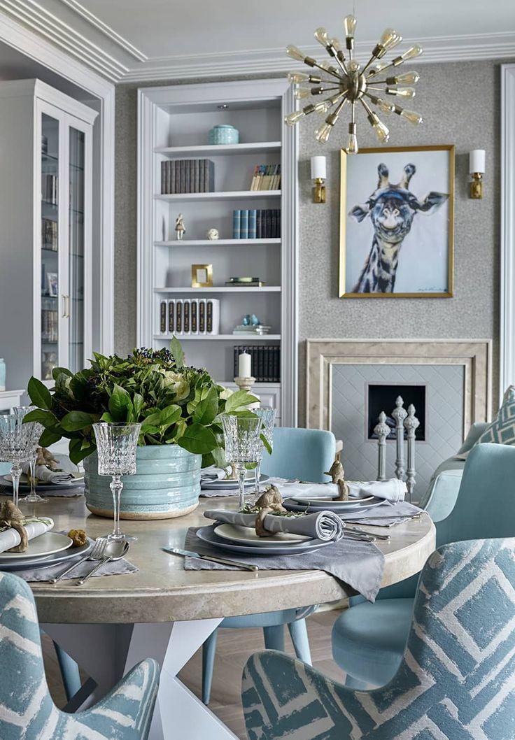 Пространство стиля: Столовые комнаты в . Автор – VVDesign