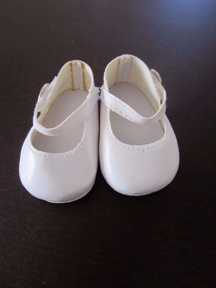 WHITE Mary Jane SHOES White Soles American Girl Tiny Chatty Baby FREE SHIPPING | eBay