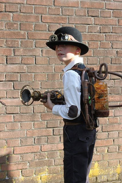 Steampunk kid 1 by Edwin uit Rotterdam, via Flickr