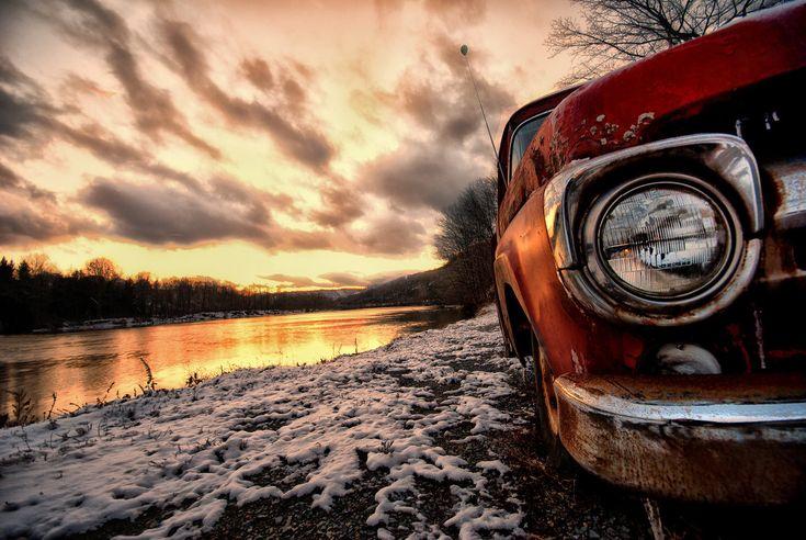I love old cars.