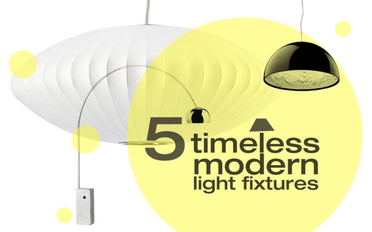 5 timeless #modern light fixtures - which one is your favorite? http://ebay.to/1zS7q8u