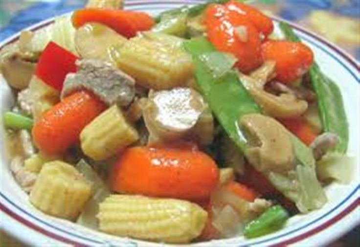 Chop suey is an American Chinese cuisine and other forms of overseas Chinese cuisine. It is consists of small pieces of meat, chicken or shrimp. Stir-fried | Panlasang Pinoy Recipes