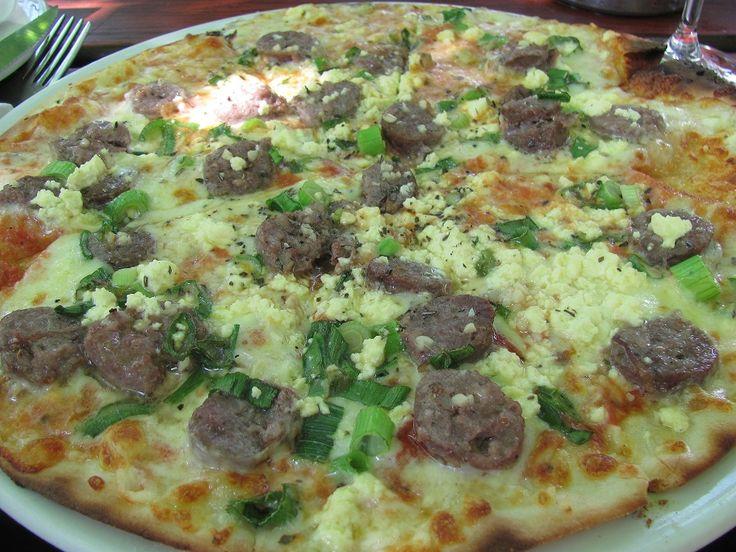 Gluten Free Farmer Pizza at Under Oaks, Paarl