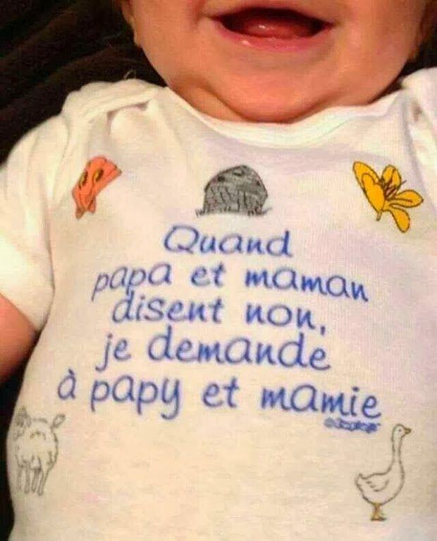 Citations option bonheur: Panneau humoristique sur les grands-parents