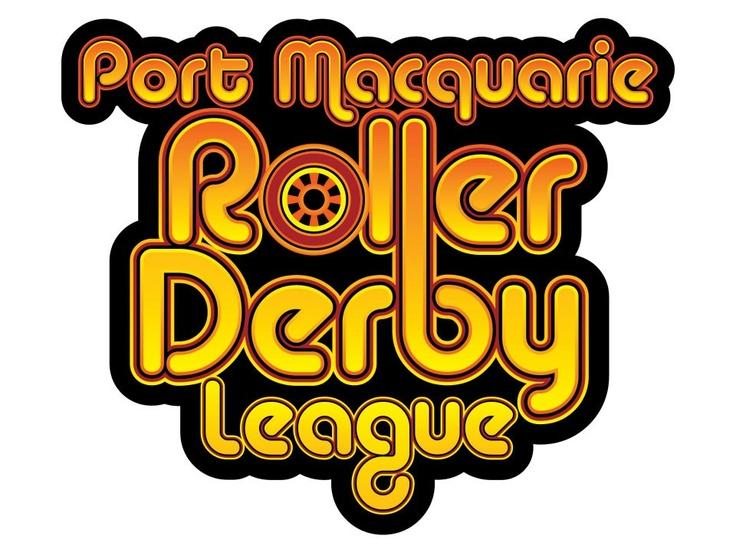 Logo design for the Port Macquarie Roller Derby League, Port Macquarie