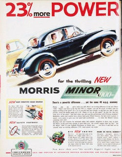 Morris Minor ad