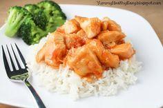 Easy & Delicious Mandarin Chicken {Yummy. Healthy. Easy.} #chicken #recipe