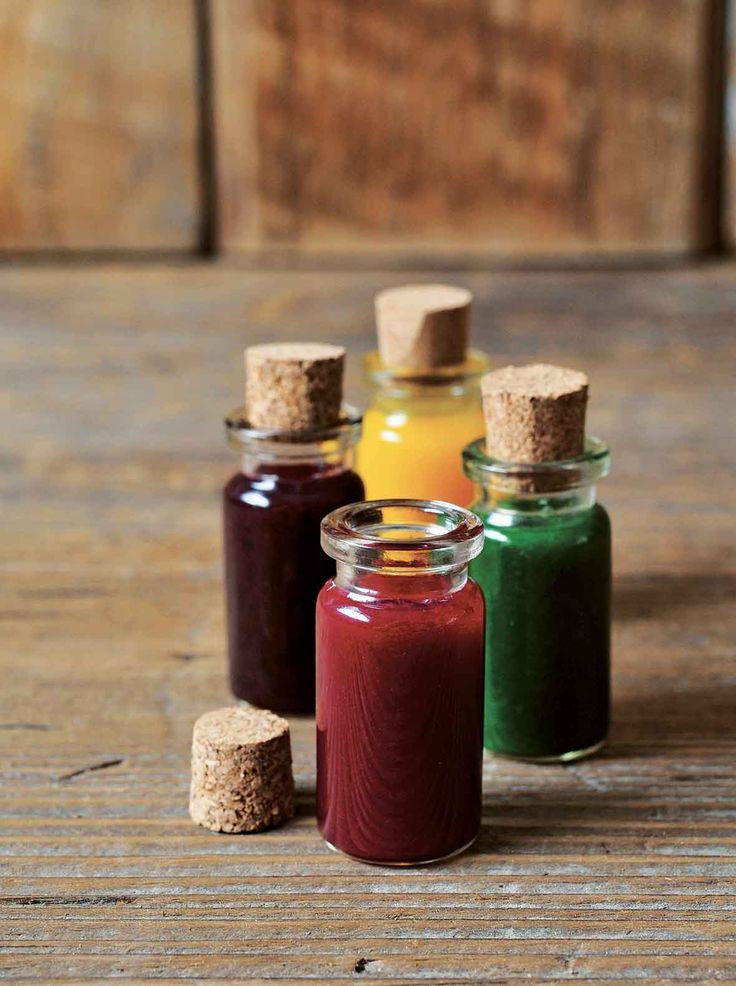 How To Make Natural Food Coloring Recipe