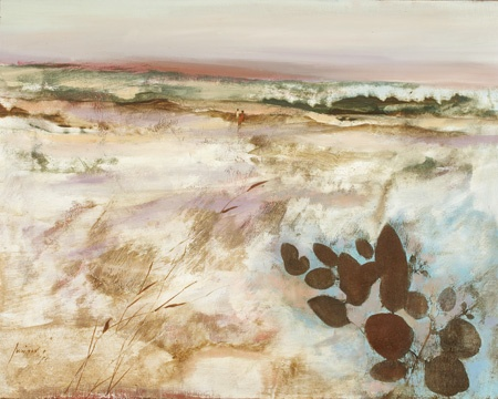 Robert Juniper - landscape, 1971