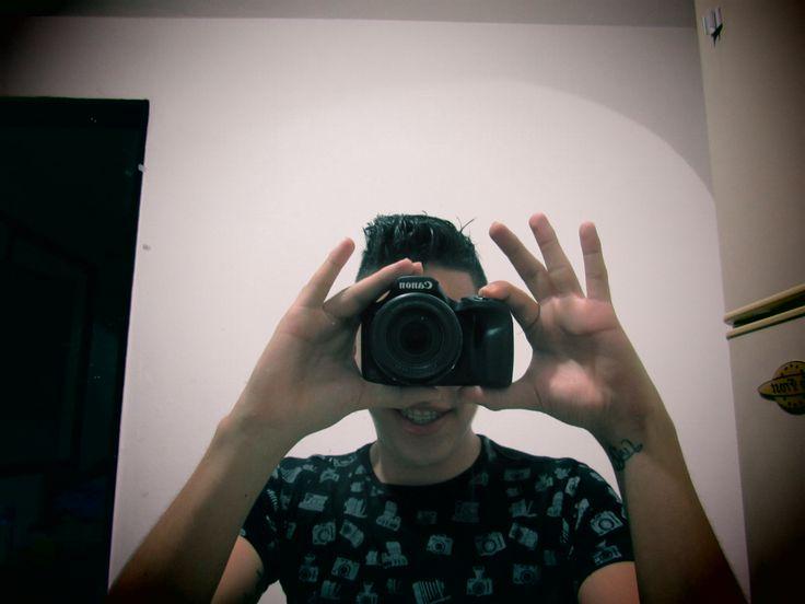 #canon #camera #pintboy #fashion #tshirt #photo !! #manstyle