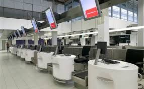 airport check in desks - Google Search