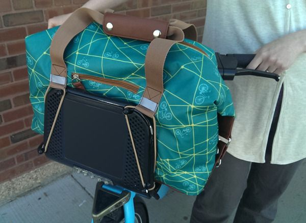 Ultimate Bike Share Bag by Po Campo