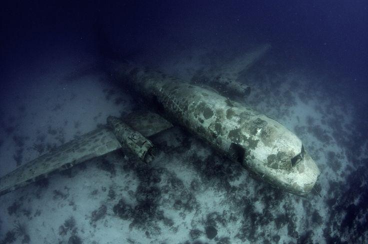 Air Aruba YS-11 Aeroplane Wreck