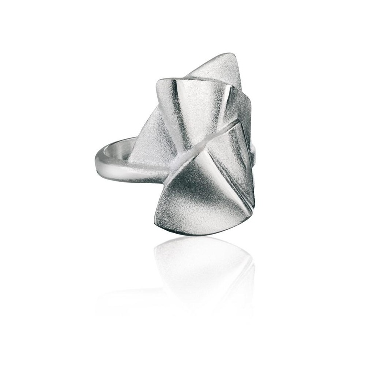 CLAUDEM Silver Ring / Design Zoltan Popovits / Handmade in Helsinki / Lapponia Jewelry