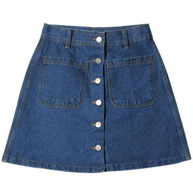 New 2017 Women Summer Denim Skirts Fashion High Waist Blue Skirts Plus Size Mini Jeans Skirt High Quality Cheap Clothes In China skirts womens, skirts womens clothing for sale	, women's skirts and dresses, women's skirts australia, women's skirts below knee. #ad