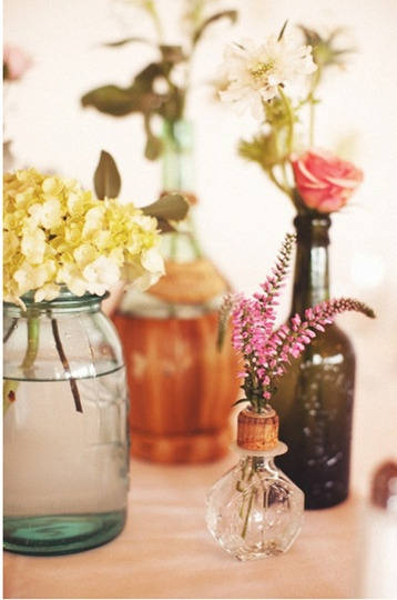 center pieces, indoor windows, tables, loving these anywhere