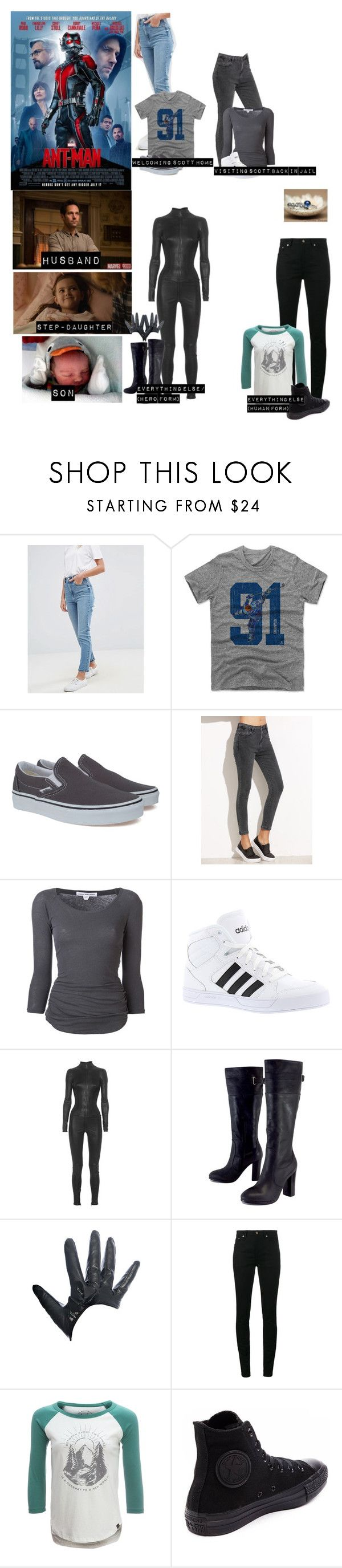 """Me in ""Ant-Man"""" by sunshineadrenaline ❤ liked on Polyvore featuring Humör, Ryder, ASOS, Vans, James Perse, adidas, Aphero, Kelsi Dagger Brooklyn, Fracomina and Yves Saint Laurent"