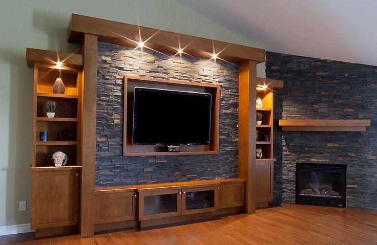 Welcome To Elmwood Fine Custom Cabinetry - custom entertainment unit.