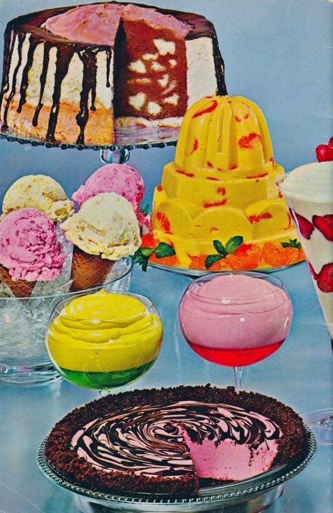 retro food - Buffet Retro Cuisine