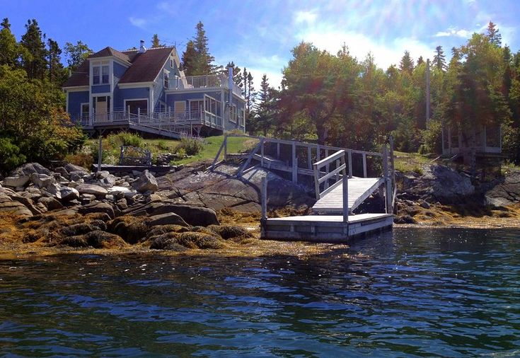 Our home sits on a pretty, secluded cove overlooking a bay. Has a lower deck, gazebo, floating dock