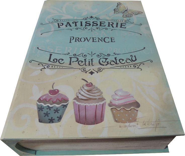 Cx Livro Patisserie -