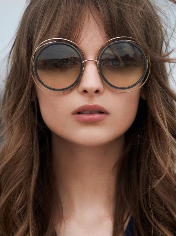 11 Hottest Eyewear Trends for Men & Women 2017  - Sunglasses are worn for different purposes. We do not wear them for just protecting our eyes from sunlight or dust while walking in the streets. We al... -  double-wire-rim-sunglasses-1 .