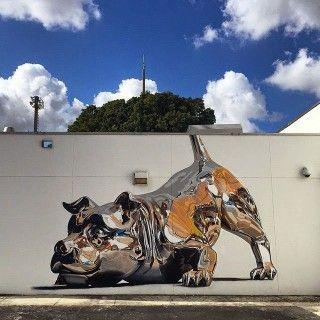 sb braata lr canvas sneakers chrome dog mural by bikismo art basel miami 2014 4