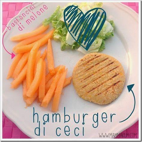 Mammarum: Hamburger di ceci e verdure (nascoste e non!)