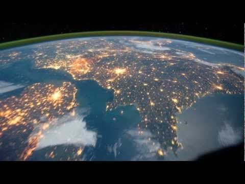 These high-res time-lapse sequences captured by astronauts ...