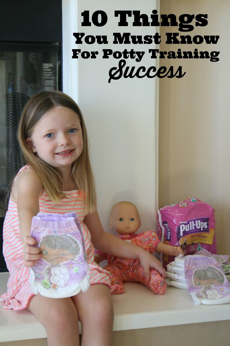 This is the ultimate guide! 10 Things You Must Know For Potty Training Success #PottyTraining #ad