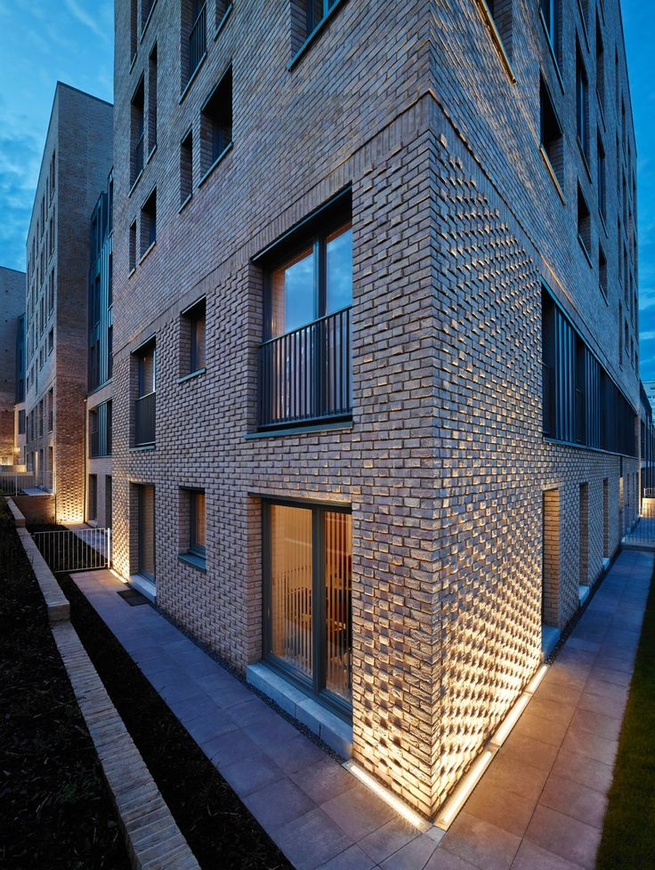 Collective Architecture - Argyle Street - Social housing - Projecting Brick - Lighting