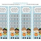 Use bookmark as a way for students to track how many AR tests they have passed for the month.  Separate themed bookmarks for August - May for a tot...